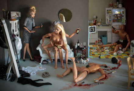 Barbie death orgy